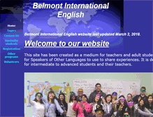 Tablet Preview of belmontenglish.org